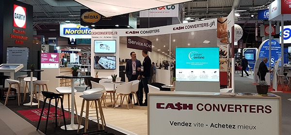 Franchise Expo : encore un excellent salon pour Cash Converters !