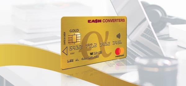Cash Converters lance la Gold Mastercard gratuite pour ses clients